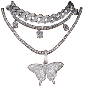 butterfly necklace png