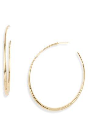 gorjana Farrah Large Tapered Hoop Earrings