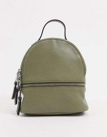 Steve Madden Jacki backpack in olive | ASOS