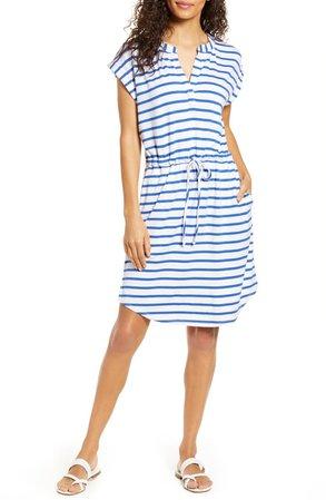 Gibson x Hi Sugarplum! Como Drawstring Jersey Dress (Regular & Petite)   Nordstrom