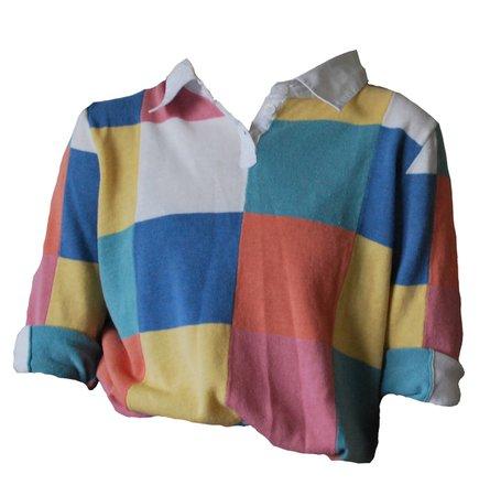 colourblock polo