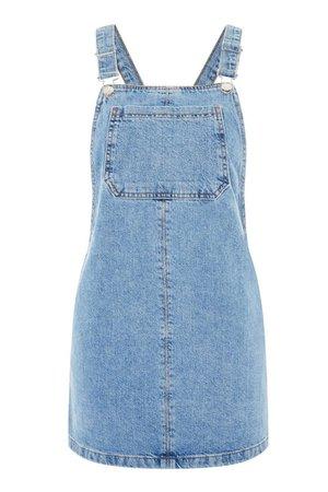 Blue Overall Dress