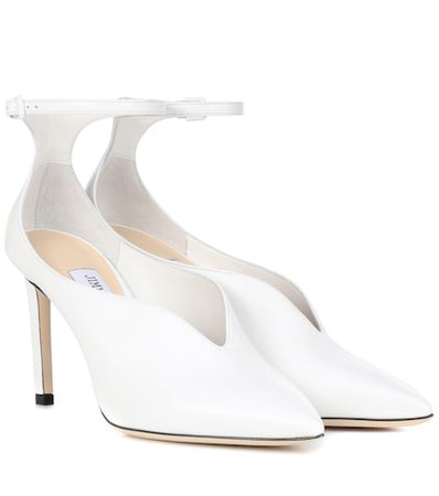 Sonia 100 leather pumps