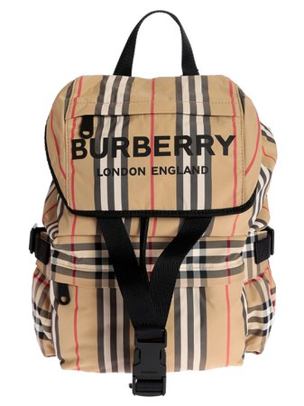 Burberry Small Checked Backpack