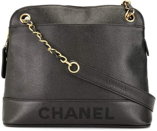 Chanel Pre Owned 1997s chain shoulder tote bag