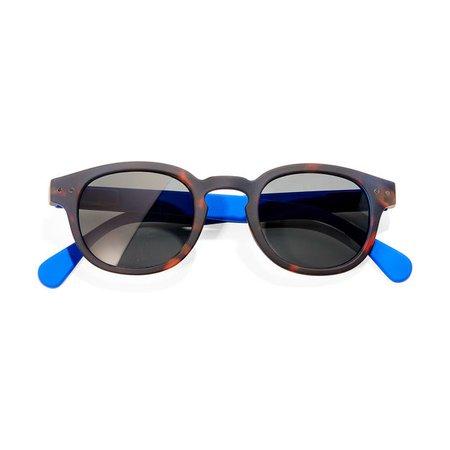 MoMA Edition IZIPIZI Sunglasses, Tortoise/Blue   MoMA Design Store   MoMA Design Store