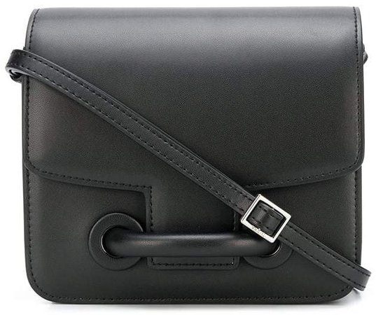 City flap shoulder bag