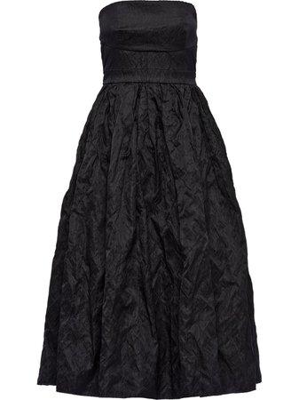 Prada strapless Duchess dress - FARFETCH