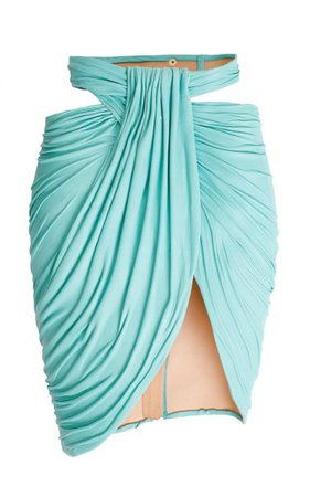 Asymmetric Mini Skirt By Balmain | Moda Operandi