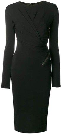 Signature zip dress