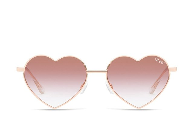 HEARTBREAKER Heart-Shaped Sunglasses | Quay Australia