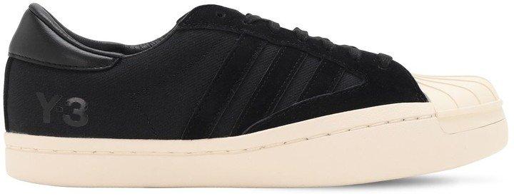 Yohji Star Leather Sneakers
