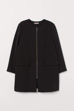 H&M+ Short Coat - Black