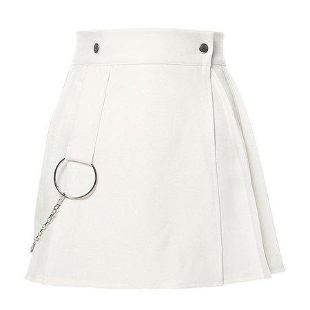 Pleated Wrap Mini Skirt – Own Saviour