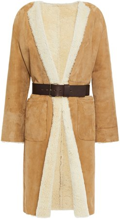 Lyam Belted Shearling Coat