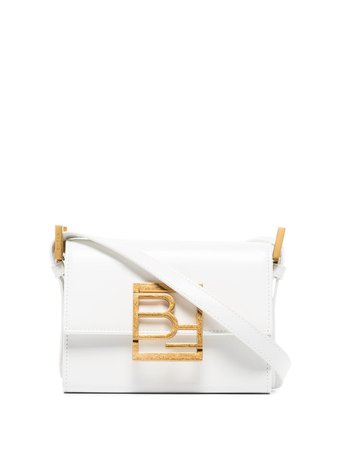 BY FAR Fran logo-plaque Shoulder Bag - Farfetch