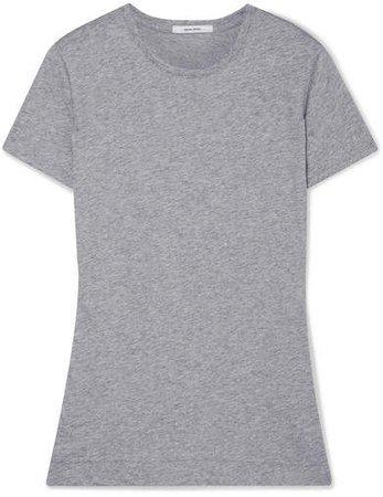 Pima Cotton-jersey T-shirt - Gray