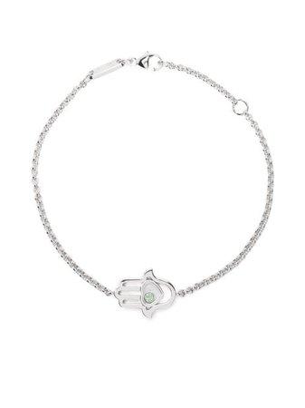 Chopard 18kt White Gold Good Luck Charms Bracelet - Farfetch