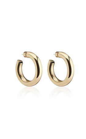 Mini Jamma Gold-Plated Hoop Earrings by Jennifer Fisher | Moda Operandi
