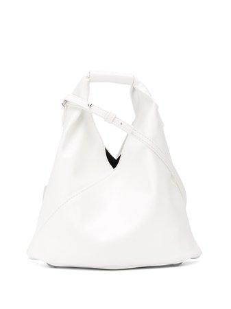 Mm6 Maison Margiela Mini Japanese Tote Bag S41WD0040PR731 White | Farfetch