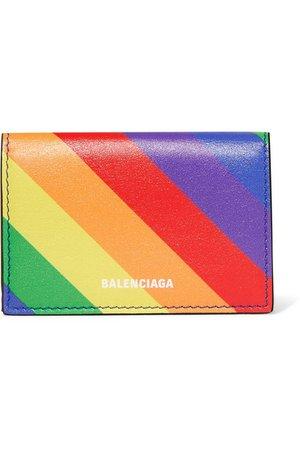 Balenciaga | Ville mini textured-leather wallet | NET-A-PORTER.COM