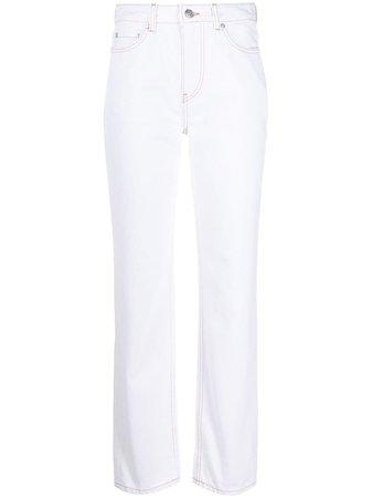 GANNI straight-leg Jeans - Farfetch