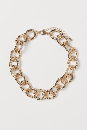Short necklace - Gold-coloured - Ladies | H&M GB