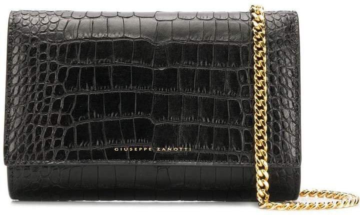 Crocodile Style Clutch Bag