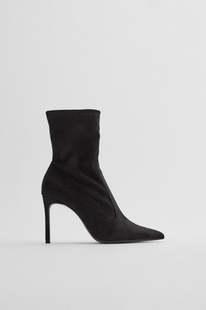 ANKLE BOOTS WITH STILETTO HEEL | ZARA United Kingdom