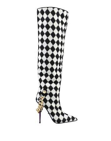 GCDS Checker Boots