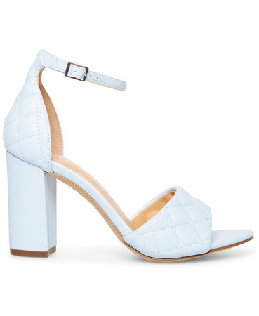 Madden Girl Blend-Q Quilted Two-Piece Block-Heel Sandals & Reviews - Sandals - Shoes - Macy's