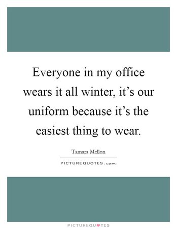 winter work wear quotes - Google Search
