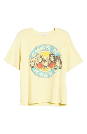 Daydreamer Guns N' Roses Welcome to the Jungle Graphic Tee | Nordstrom