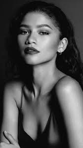 zendaya black and white - Google Search