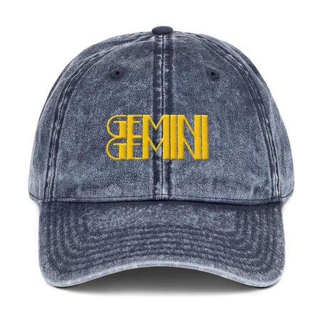 Gemini Zodiac Hat dad hat trucker caps baseball cap womens | Etsy