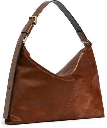 Edbury Genuine Calf Hair Shoulder Bag