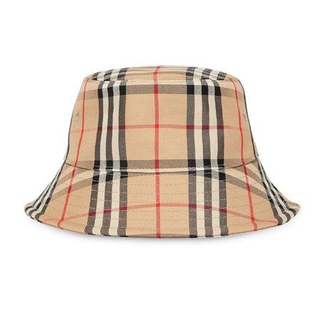 burberry plaid bucket hat