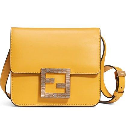 Fendi Fab Leather Crossbody Bag   Nordstrom
