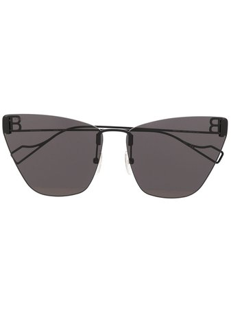 Balenciaga Eyewear BB cat-eye Sunglasses - Farfetch
