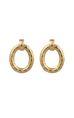 Gold-Plated Erica Earrings By Valére   Moda Operandi
