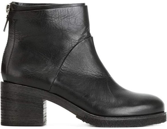 Del Carlo zip ankle boots