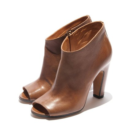 Wish List: Maison Martin Margiela Peep Toe Ankle Boots at Forty Five Ten - D Magazine
