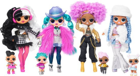 L.O.L. Surprise! Winter Disco OMG Doll Styles May Vary 561781 - Best Buy