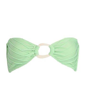 Shani Shemer Swimwear Apple Green Bikini Top   INTERMIX®