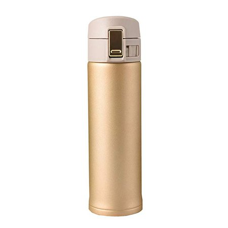 Amazon.com: Thermos Stainless Steel Mug, 16-Ounce, Home Travel Thermal Cup (Gold) ...: Kitchen & Dining