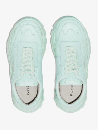 Rombaut green Boccacio chunky sole sneakers | Browns