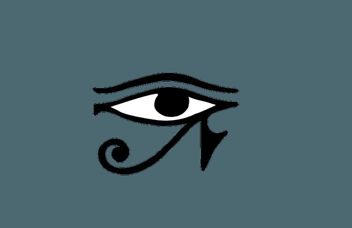 Eye of Horus Transparent 1
