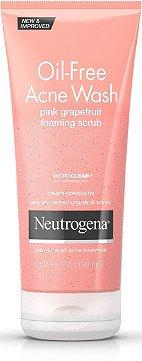 Neutrogena Oil-Free Acne Wash Pink Grapefruit Foaming Scrub   Ulta Beauty