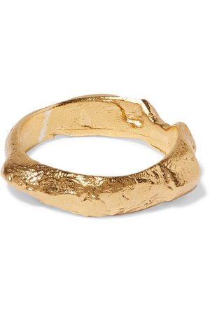 Alighieri | Gold-plated ring | NET-A-PORTER.COM