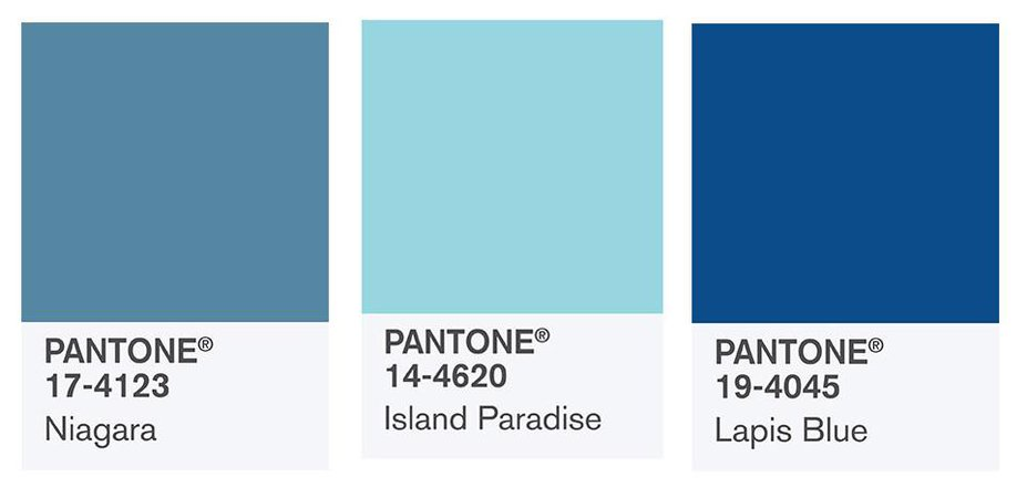 PANTONE BLUE SET